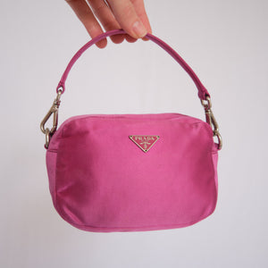 Vintage Prada Satin MIni Bag