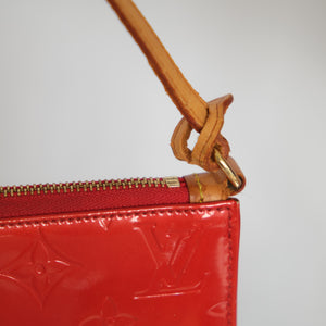 Louis Vuitton Red Vernis Pochette