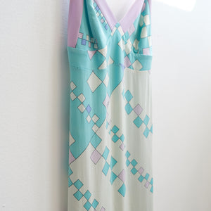 90s Emilio Pucci Slinky Silk Dress