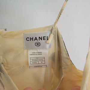 Vintage Chanel Silk Camélia Dress