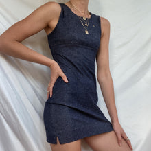 Load image into Gallery viewer, Vintage Vivienne Westwood Gold Label Denim Mini Dress