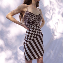 Load image into Gallery viewer, Vintage Fendi Zucca Print Camisole Dress