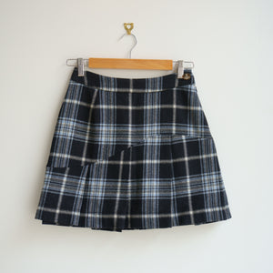 90s Vivienne Westwood Tartan Pleated Mini Skirt