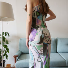 Load image into Gallery viewer, Emilio Pucci Slinky Abstract 90s Dress