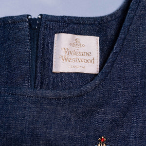 Vintage Vivienne Westwood Gold Label Denim Mini Dress