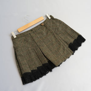 Vintage Dolce & Gabbana Pleated Mini Skirt