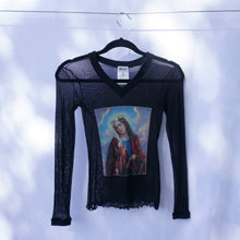 Load image into Gallery viewer, Rare Dolce and Gabbana 1990s Madonna Mesh Top
