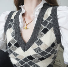 Load image into Gallery viewer, 90s Vivienne Westwood Argyle Check Vest