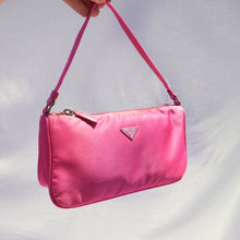 Load image into Gallery viewer, Vintage Prada Nylon Pink Mini Pochette