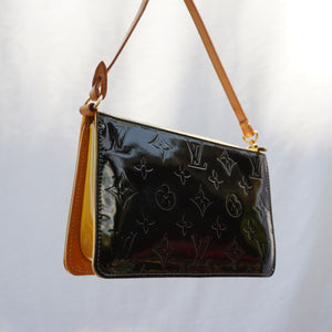 Vintage Black Louis Vuitton Vernis Mini Pochette