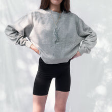 Load image into Gallery viewer, 90s Yves Saint Laurent Homme Logo Embroidered Sweatshirt