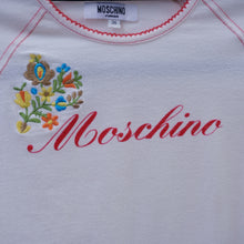 Load image into Gallery viewer, Vintage Moschino Logo Baby T-Shirt