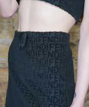 Load image into Gallery viewer, Vintage Fendi Terry Towel Mini skirt Set