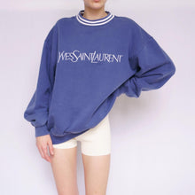 Load image into Gallery viewer, 90s Yves Saint Laurent Embroidered Sweatshirt
