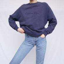 Load image into Gallery viewer, Vintage Christian Dior Embroidered Sweatshirt