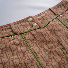 Load image into Gallery viewer, Iconic Christian Dior Rasta Collection Monogram Skirt