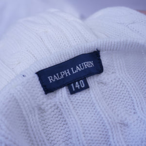 90s Cable Knit Polo Ralph Lauren Bolero/Cardigan