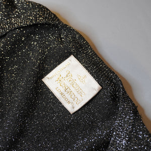 Vivienne Westwood Sparkly Lurex Mini Dress