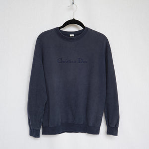 Vintage Christian Dior Embroidered Sweatshirt