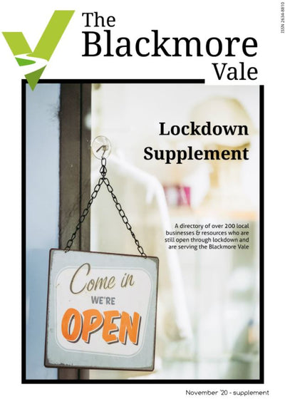 Read all about it! The Blackmore Vale Lockdown Supplement