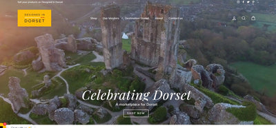 Designed in Dorset New Website Launch