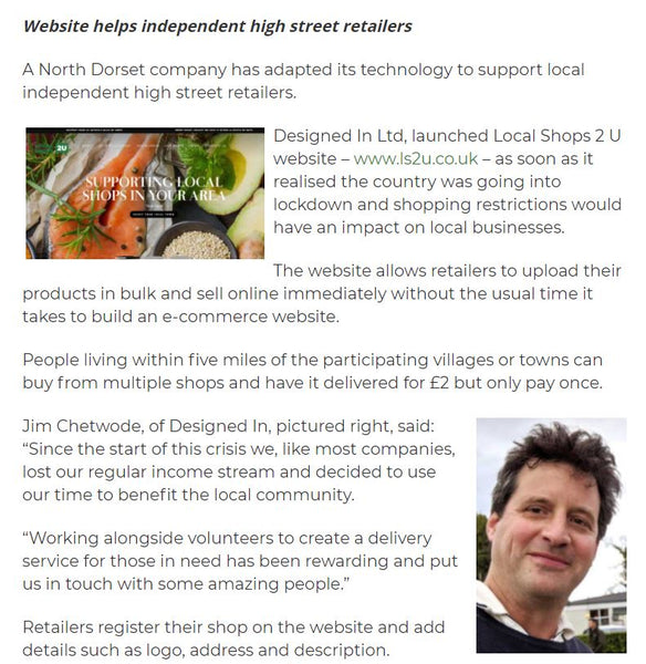 Dorset Business News featuring Designed in Dorset