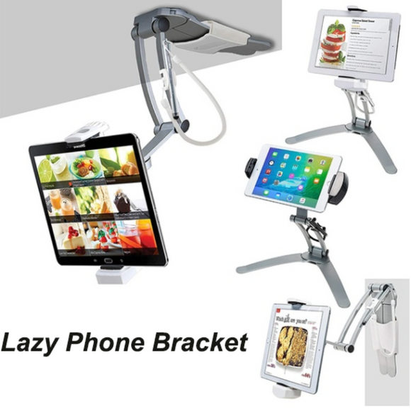 Desktop & Wall Pull-Up Lazy Bracket