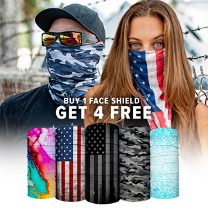 BUY 1 FACE SHIELD  GET 4 FREE!
