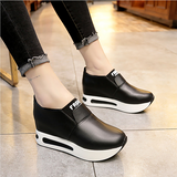 Autumn Women Creepers Increasing Height Shoes