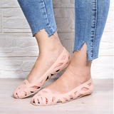Summer Women Sandals Hollow Flat Shoes
