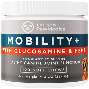 Glucosamine for Dogs + Hemp Mobility