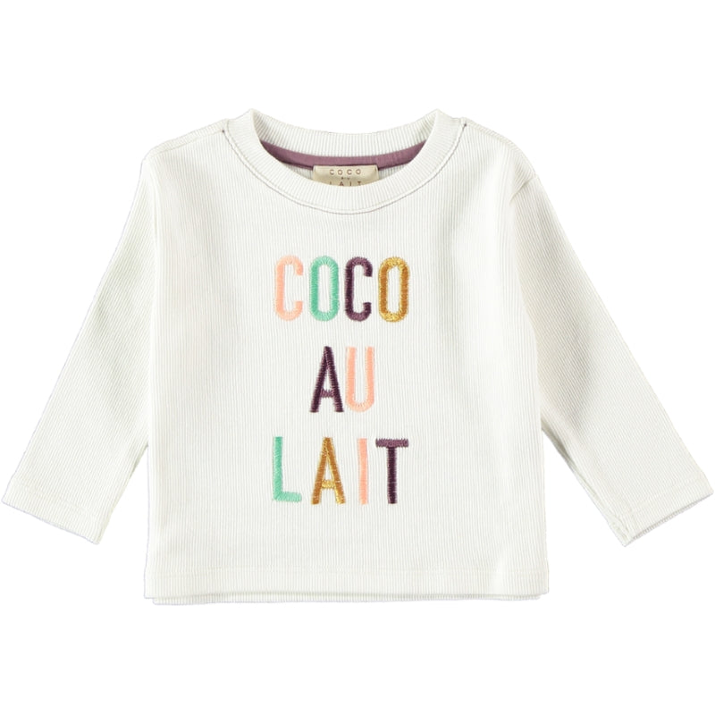 Load image into Gallery viewer, Coco Au Lait BABY COCO AU LAIT T-SHIRT T-Shirt Antique White