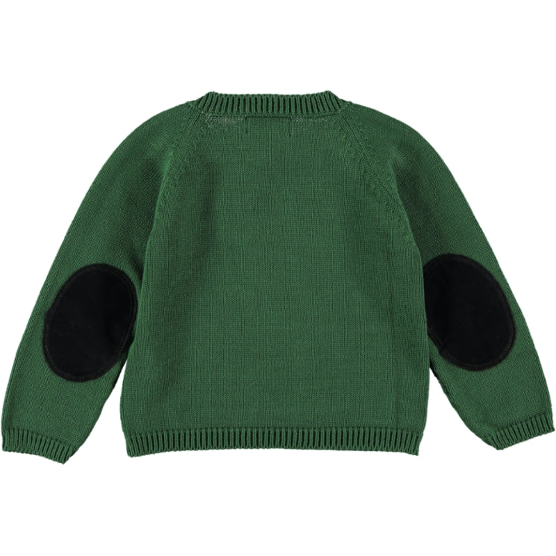 Load image into Gallery viewer, Coco Au Lait BABY GREEN KNIT SWEATER Sweater Greener Pastures
