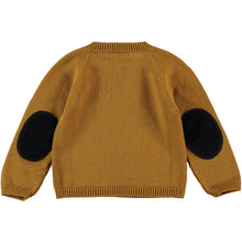 Load image into Gallery viewer, Coco Au Lait BABY MUSTARD KNIT SWEATER Sweater Golden Brown