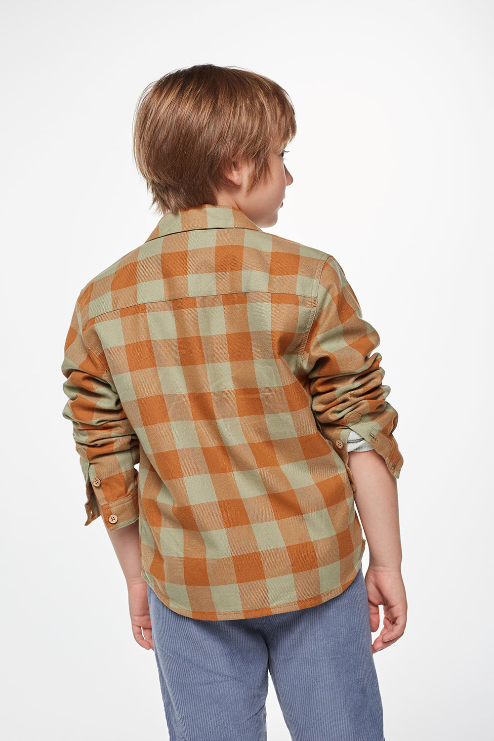 Load image into Gallery viewer, Coco Au Lait BABY CHECKERED SHIRT Shirt Multicolor Squares