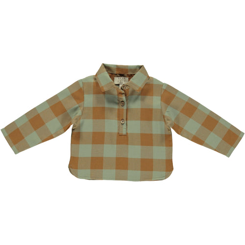 Coco Au Lait BABY CHECKERED SHIRT Shirt Multicolor Squares