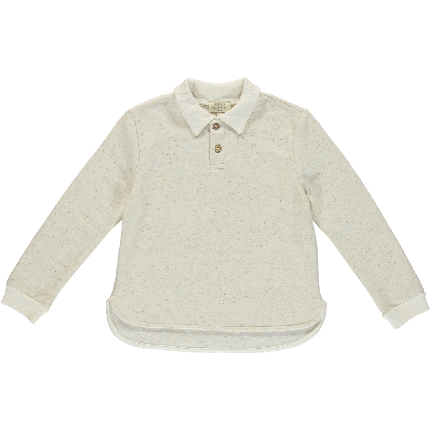 Load image into Gallery viewer, Coco Au Lait BABY POLO Polo Silver Birch
