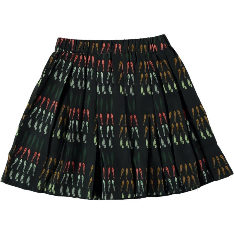 Load image into Gallery viewer, Coco Au Lait BLACK VEGETABLES SKIRT Skirt Caviar