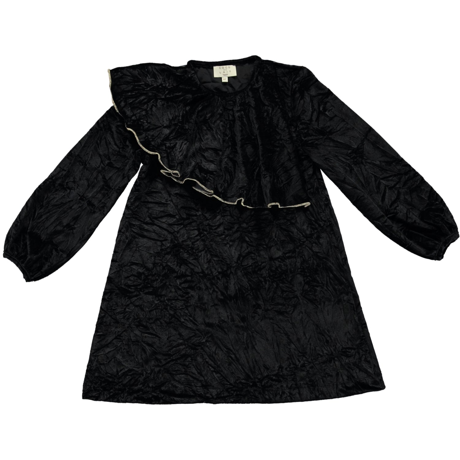 Load image into Gallery viewer, Coco Au Lait BLACK VELVET DRESS Dress Caviar