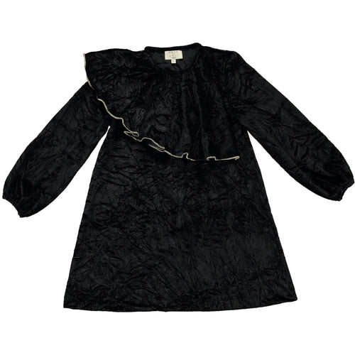 Coco Au Lait BLACK VELVET DRESS Dress Caviar