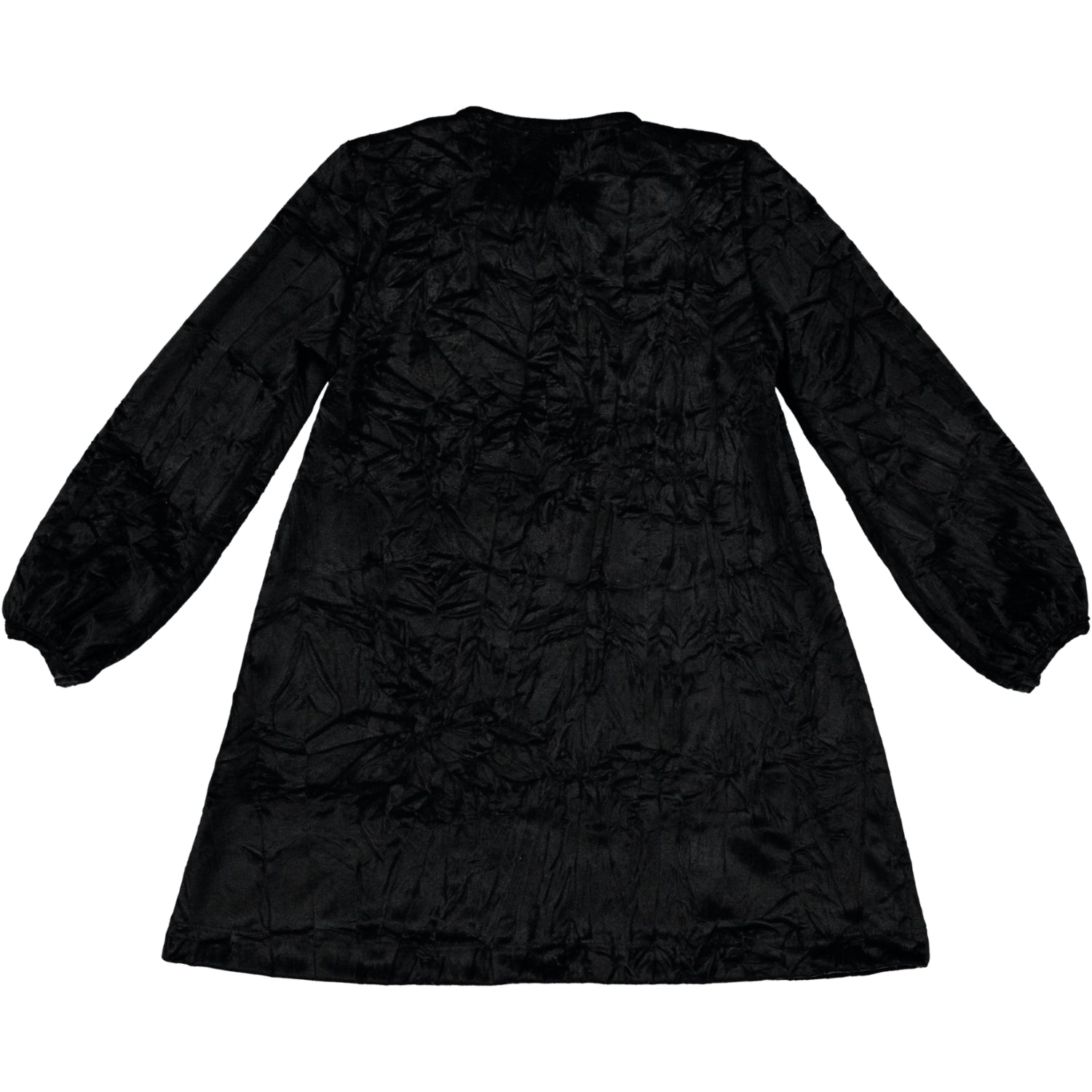 Load image into Gallery viewer, Coco Au Lait BLACK VELVET DRESS BABY Dress Caviar