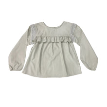 Load image into Gallery viewer, Coco Au Lait BLOUSE WITH FLOUNCES Blouse Antique White