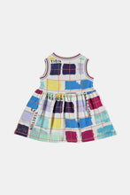 Load image into Gallery viewer, Coco Au Lait Big Reflections Baby Dress Dress Multicolor Stripes 1