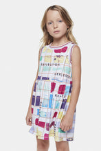 Load image into Gallery viewer, Coco Au Lait Big Reflections Dress Dress Multicolor Stripes 1