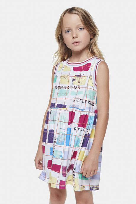Coco Au Lait Big Reflections Dress Dress Multicolor Stripes 1