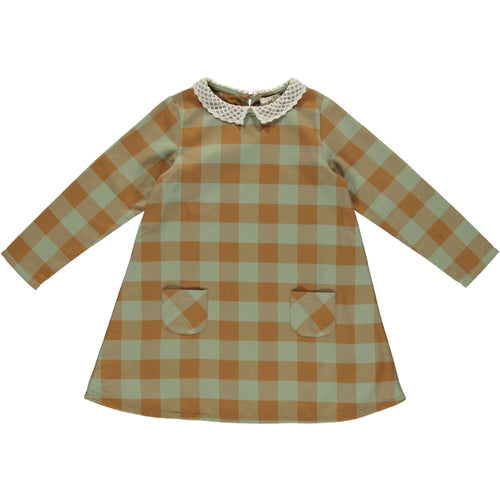 Coco Au Lait CHECKERED DRESS Dress Multicolor Squares