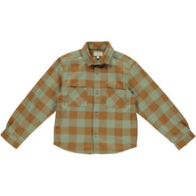 Load image into Gallery viewer, Coco Au Lait CHECKERED SHIRT Shirt Multicolor Squares