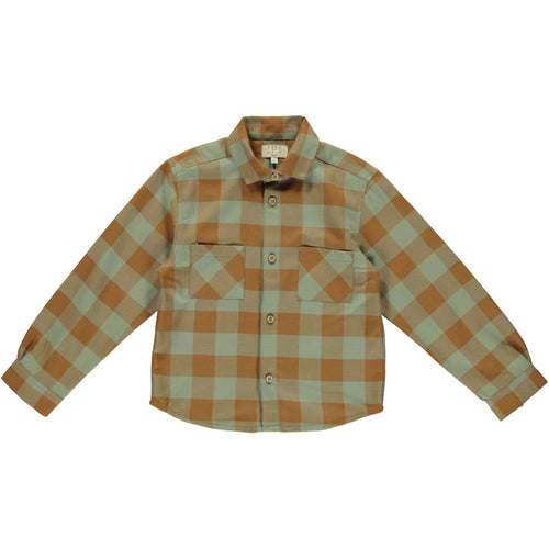 Coco Au Lait CHECKERED SHIRT Shirt Multicolor Squares
