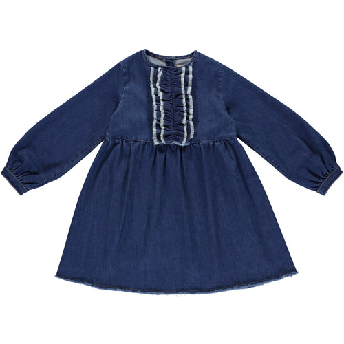 Coco Au Lait DENIM DRESS Dress Denim Blue