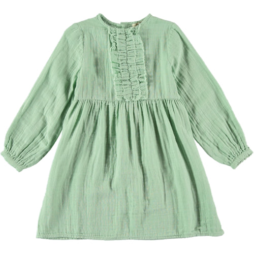 Coco Au Lait GREEN BAMBULA DRESS Dress Granite Green